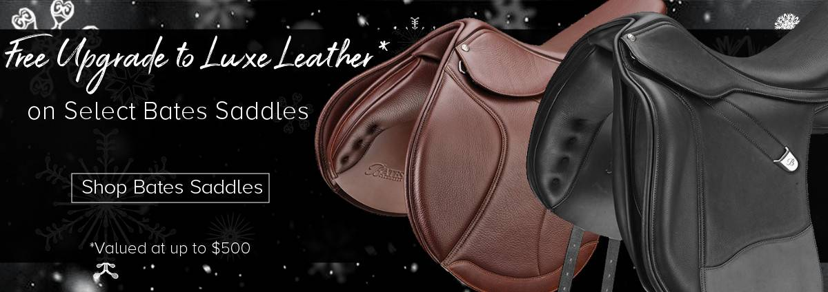 Bates Luxe Leather Saddles