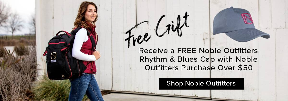 Free Gift with Noble Outfitters Purchase Over $50