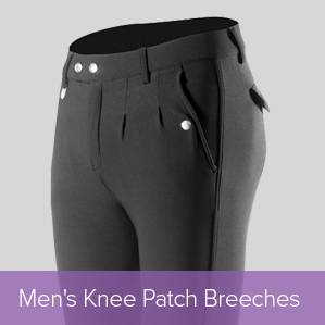 Shop Mens Knee Patch Breeches