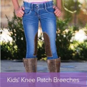 Shop Kids Knee Patch Breeches