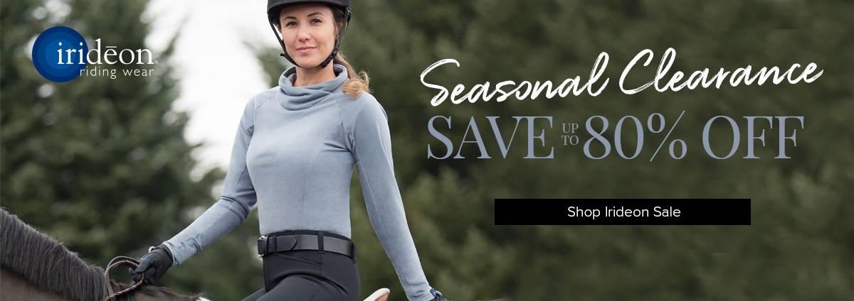 Irideon Seasonal Markdowns - Save on Everything